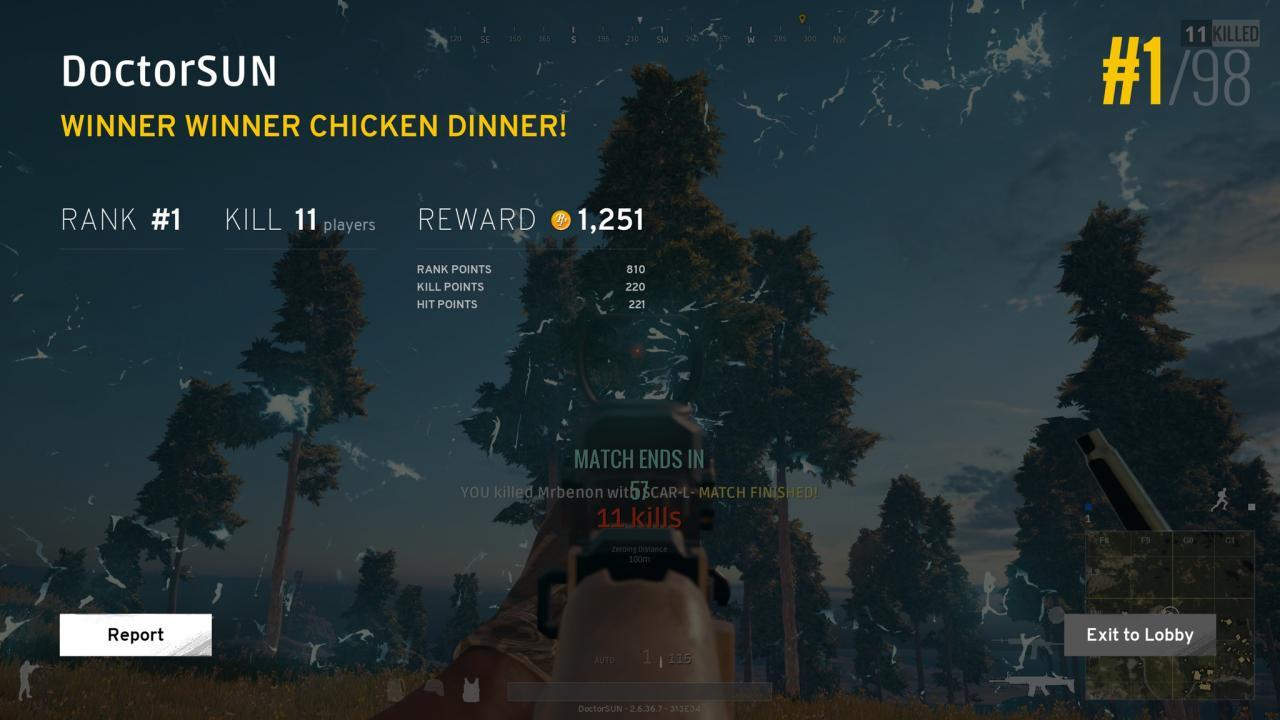 Winner Winner Chicken Dinner Wallpapers: Playerunknowns Battlegrounds
